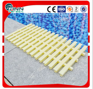 Bone Color Flexible Three Socket Swimming Pool Grating (width 18cm 20cm 25cm 35cm) pictures & photos