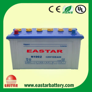 12V 100ah DIN100 Lead Acid Type Rechargeable Automotive Dry Charged Car Battery Batteries pictures & photos