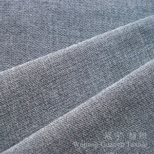 28W Super Soft Nylon Corduroy Fabric Bonded for Upholstery pictures & photos