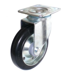 Rubber on Steel Caster (TF01-11-125S-606) pictures & photos