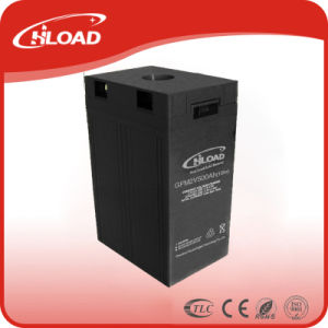 High Storage Rechargeable Gel Battery for DC Power 2V500ah pictures & photos