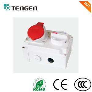 Mechanical Interlock IP44 IP67 16A Socket and Switch pictures & photos