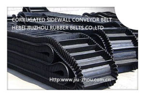 Corrugated Side Wall Rubber Conveyor Belt pictures & photos