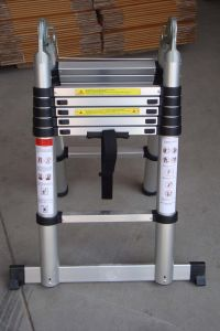 Double Telescopic Ladder (3.2M) pictures & photos