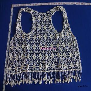 Flower Cotton Crochet Lace Top