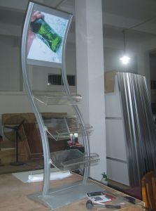 Aluminum Pop up Stand with Poster and Graphic pictures & photos
