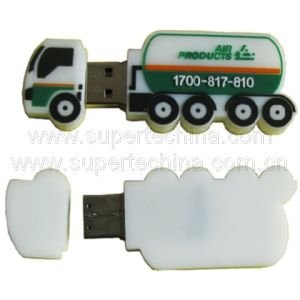 Silicone Tanker Shaped USB Flash Drive (S1A-7175C) pictures & photos