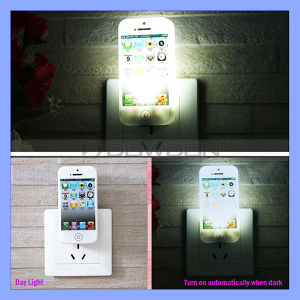 Indoor LED Sensor Night Lamp Small Sensor Light for iPhone Shape Design pictures & photos