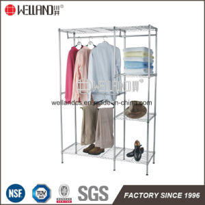 Special Popular DIY Metal Wardrobe Clothes Rack with NSF Approval pictures & photos