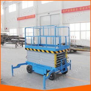 10m Hydraulic Electric Self-Propelled Scissor Lift pictures & photos
