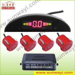 LED Car Parking Sensor with 4X Sensors and Buzzer Alarm