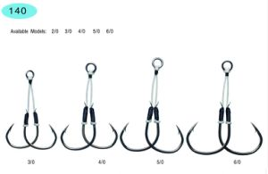 Fishing Hook /New Assist Hook/Stainless Steel and High Carbon Hook117; 140 pictures & photos