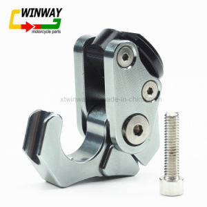 Ww-7811, Motorcycle Part CNC Helmet Hook for All Models pictures & photos