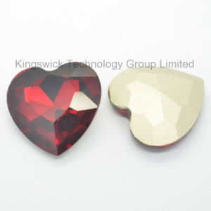 Beautiful Heart Crystal Stone Glass Gemstone Prices pictures & photos