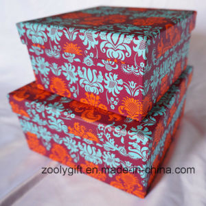 Customized Pattern Printed Square Paper Gift Boxes pictures & photos