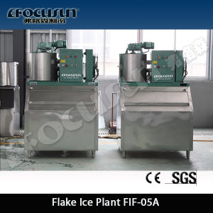2016 New Advanced Small Capacity Flake Ice Maker pictures & photos