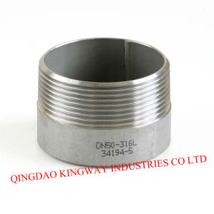 Stainless Steel Welding Nipple, 150lbs.