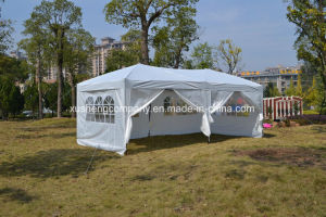 Steel Outdoor Folding Easy Pop Canopy Tent with 6 PCS Side Walls pictures & photos