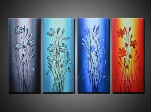 Handpainted Abstract Oil Painting on Canvas for Decor pictures & photos