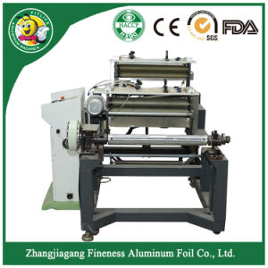 Popular Used Aluminum Foil Rewinding and Cutting Machine pictures & photos