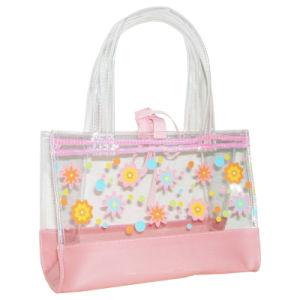 Kids Children Clear Vinyl PVC Tote Hand Bag Handbag pictures & photos