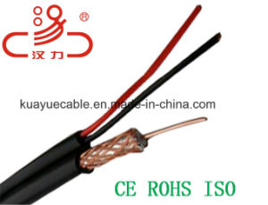 Composite Cable RG6 Coaxial Cable+/2c Power Cable Computer Cable/Communication Cable pictures & photos