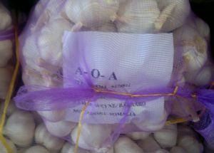 20kg Mesh Bag Packing Garlic (5.0cm) pictures & photos