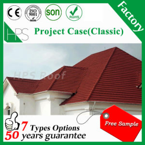 Kenya Hot Roofing Building Materials Stone Coated Steel Roof Tiles