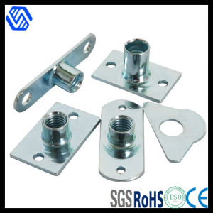 Blue-White Zinc Plated Stamping Parts pictures & photos