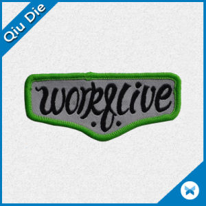 Factory Supply Woven Label/Badge for Clothing Accessories pictures & photos