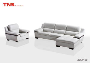 Hot Selling Modern Living Room Furniture Leather Sofa (LS4A160)