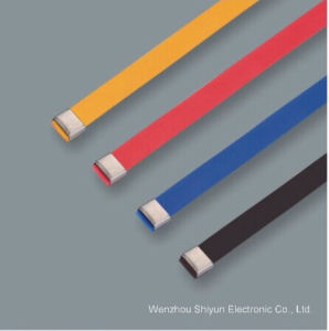 PVC Covered Stainless Steel Cable Ties-O Lock Type pictures & photos