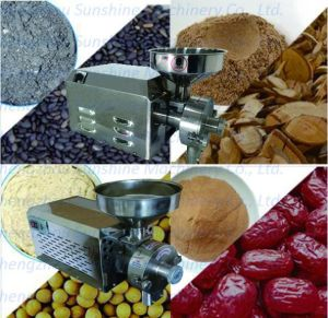 Barley Cumin Grains Pepper Chili Machine for Sale Coffee Grinder pictures & photos