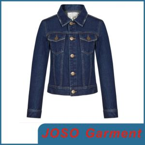 Women Popular Jean Jackets (JC4008) pictures & photos