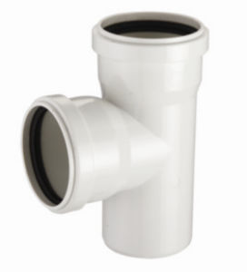 PVC-U Pipe &Fittings for Water Drainage Tee with Socket (C72) pictures & photos