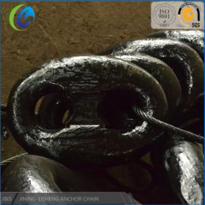 Manufacture Promotion Anchor Chain in Stock, U3 105mm Marine Link Anchor Chain pictures & photos