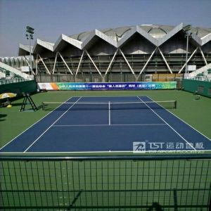 Tennis PVC Sports Flooring with Itf Standard pictures & photos