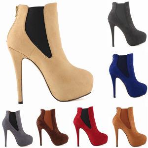 Fashion High Heels Women Shoe Ankle Boots