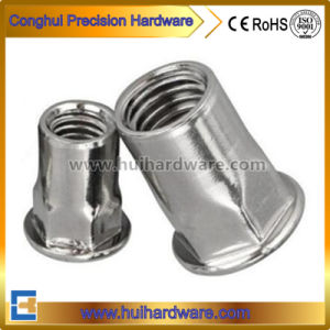 Stainless Steel 304 Flat Head Hexagon Riveted Nuts M3-M20 pictures & photos