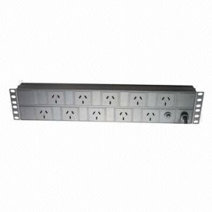 PDU, Australia Plug Socket, 10-Way, 10A, Size 2u pictures & photos