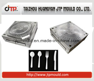 Multi Cavities Fork Mould Plastic Moulding pictures & photos