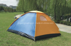 Popular 100% Polyester Camping Tent for 2 Persons (JX-CT001) pictures & photos