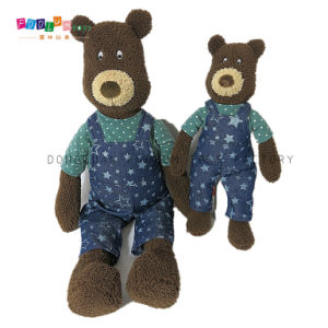 Fashion Stuffed & Plush Bear with Romper Toy Children Toy