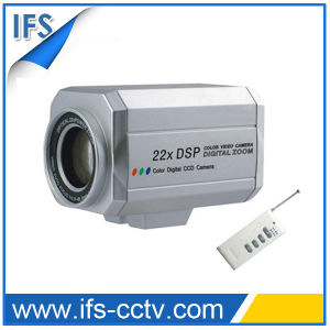 Zoom Color Security CCTV Camera with Remote Controller (IZC-224RT) pictures & photos