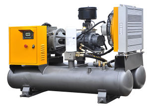 Portable Screw Compressor with Air Receiver Jky37-8