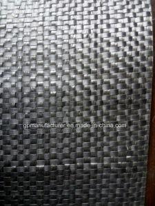 Black PP Polypropylene Woven Geotextile pictures & photos