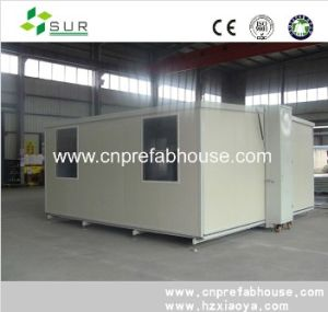 40ft Expandable and Durable Light Steel Constrution Container House pictures & photos