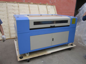 150W CO2 Small MDF Wood Acrylic Granite Stone Paper Fabric Laser Cutting Machine pictures & photos