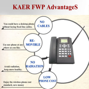 Kaer GSM Desktop Phone (KT1000-130C) pictures & photos