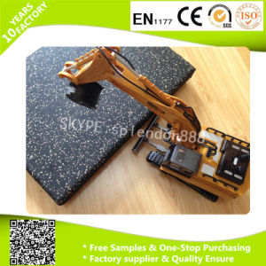 Wholesale Large Gym Indoor or Outdoor Rubber Floor Tile pictures & photos